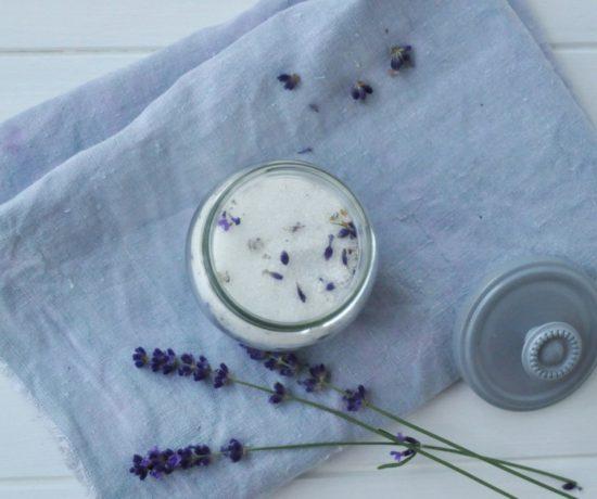Lavendelzucker selber machen