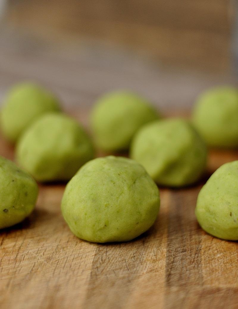 grüne Kartoffel Knödel