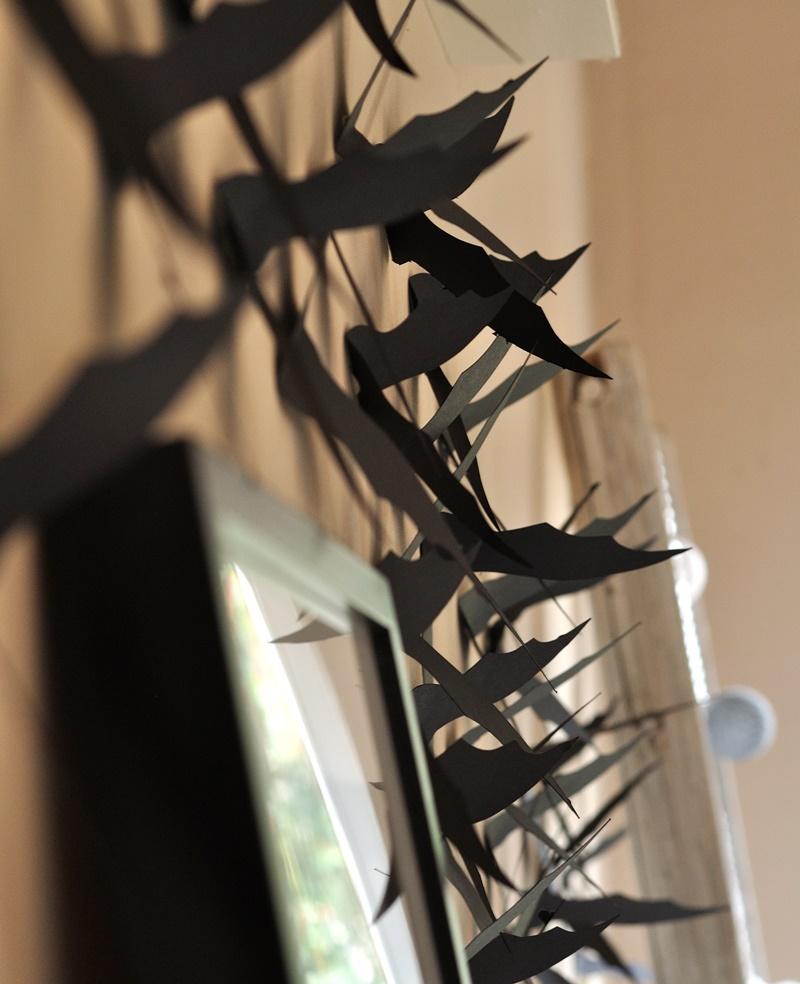 Fledermäuse Wanddeko Halloween