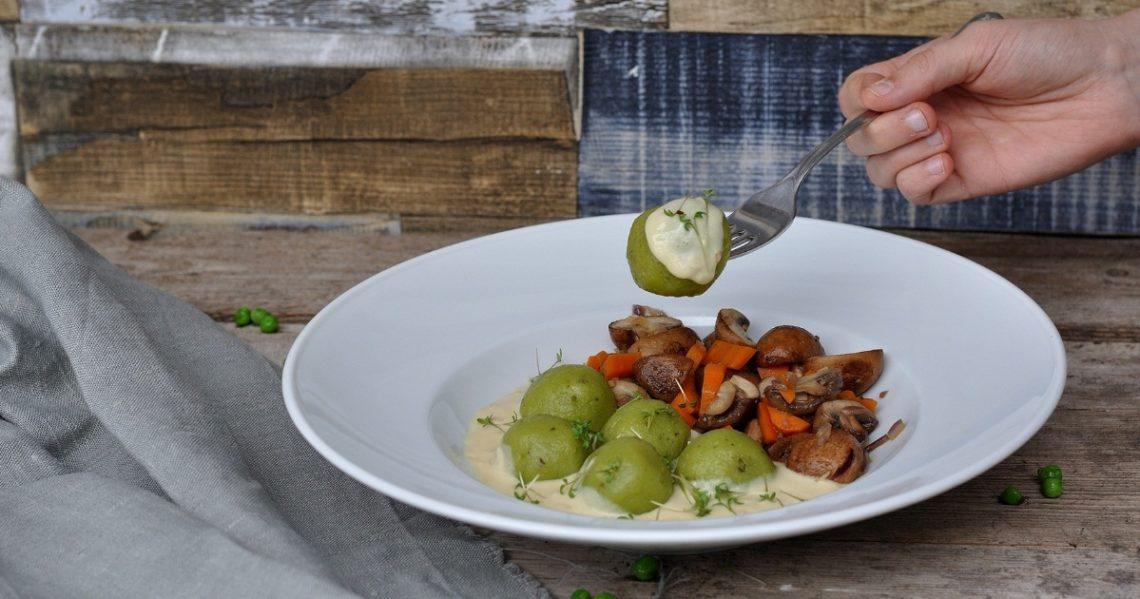 Kartoffel Knödel vegan