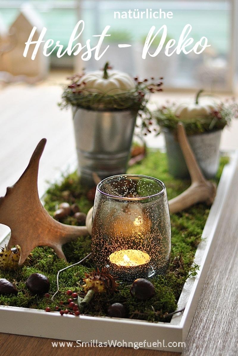 Diy Natürliche Deko Im Herbst Mit Naturmaterialien Smillas Wohngefühl