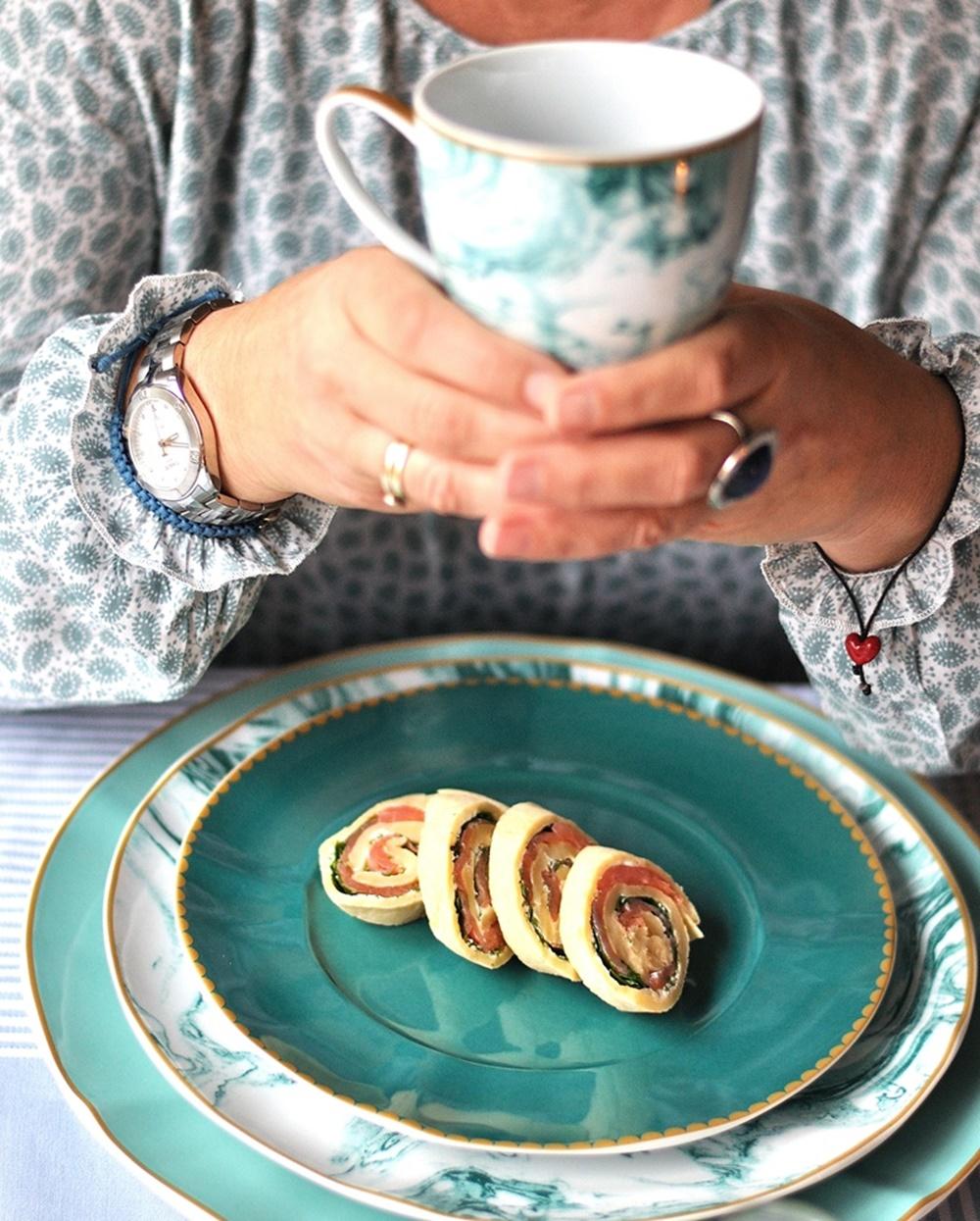 Lachs Pfannkuchen