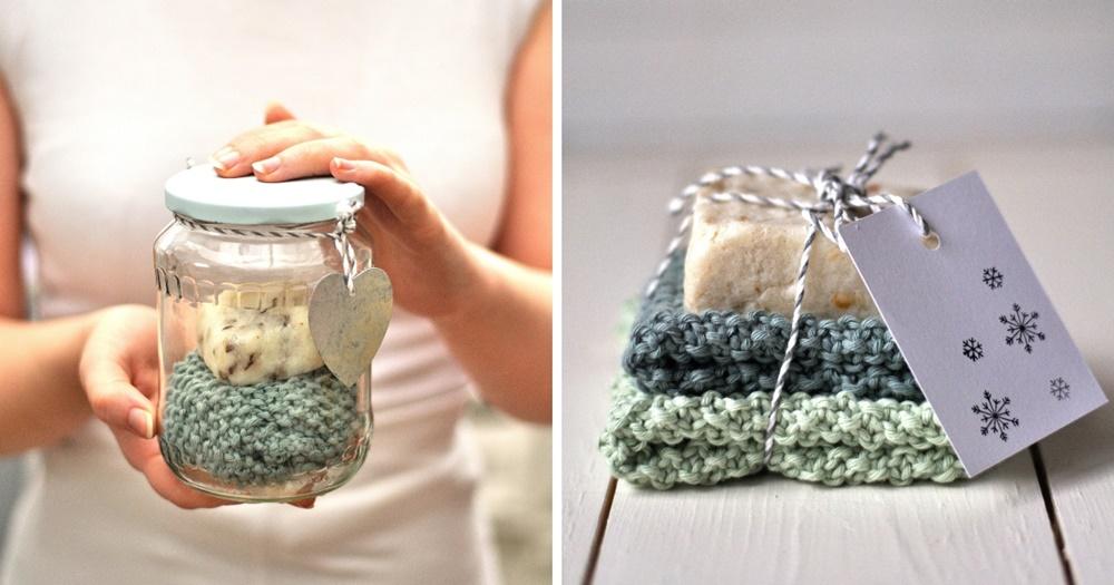 selbstgemachte Seife umweltfreundliche Verpackung