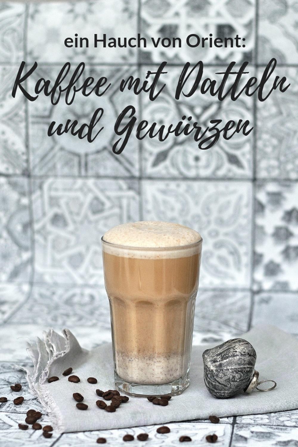 orientalischer Kaffee mit gewurzen