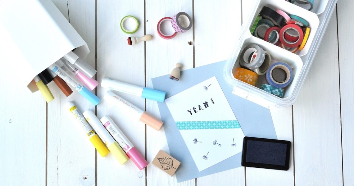 Arbeitszimmer organisieren
