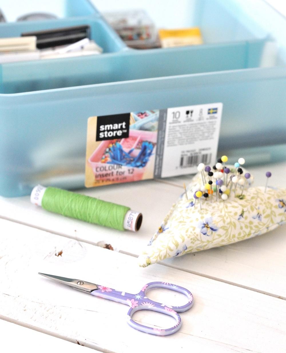 SmartStore Box mit Naehutensilien