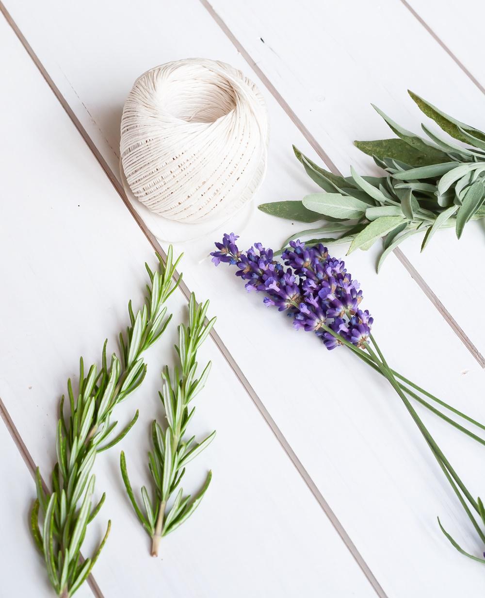 Rosmarin Lavendel Salbei