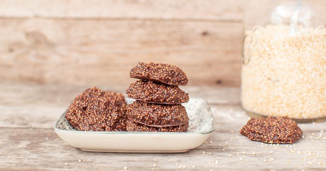 Amaranth Schokoladen Taler Rezept
