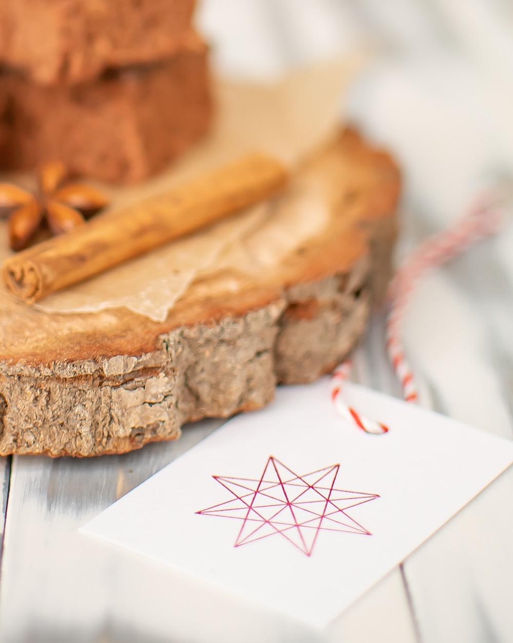 Lebkuchen Rezept Geschenkanhänger