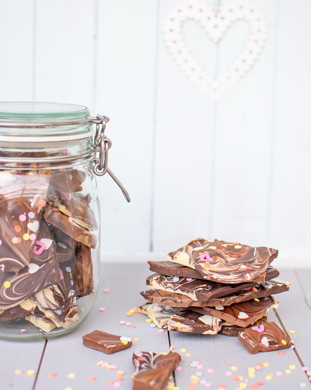 Bruchschokolade selber machen
