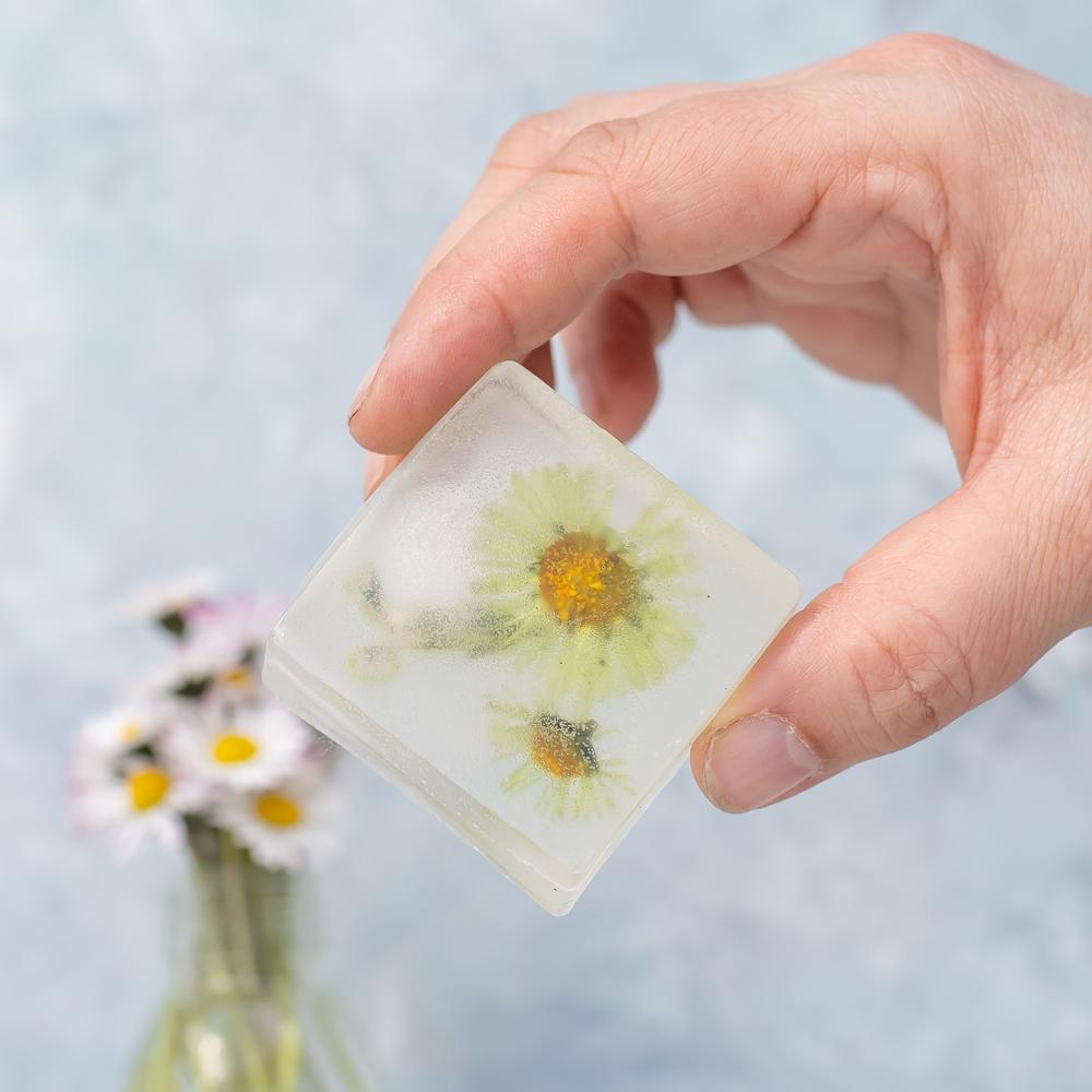 Blumen Seife selber machen