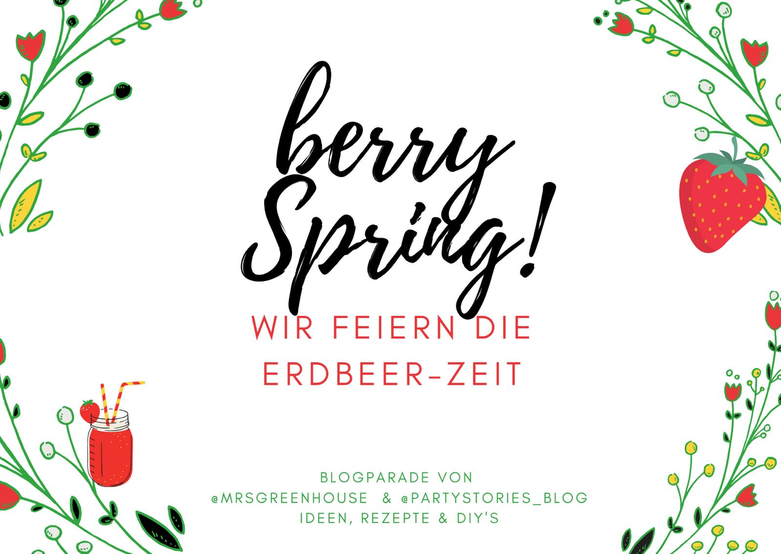 Berry Spring Blogparade