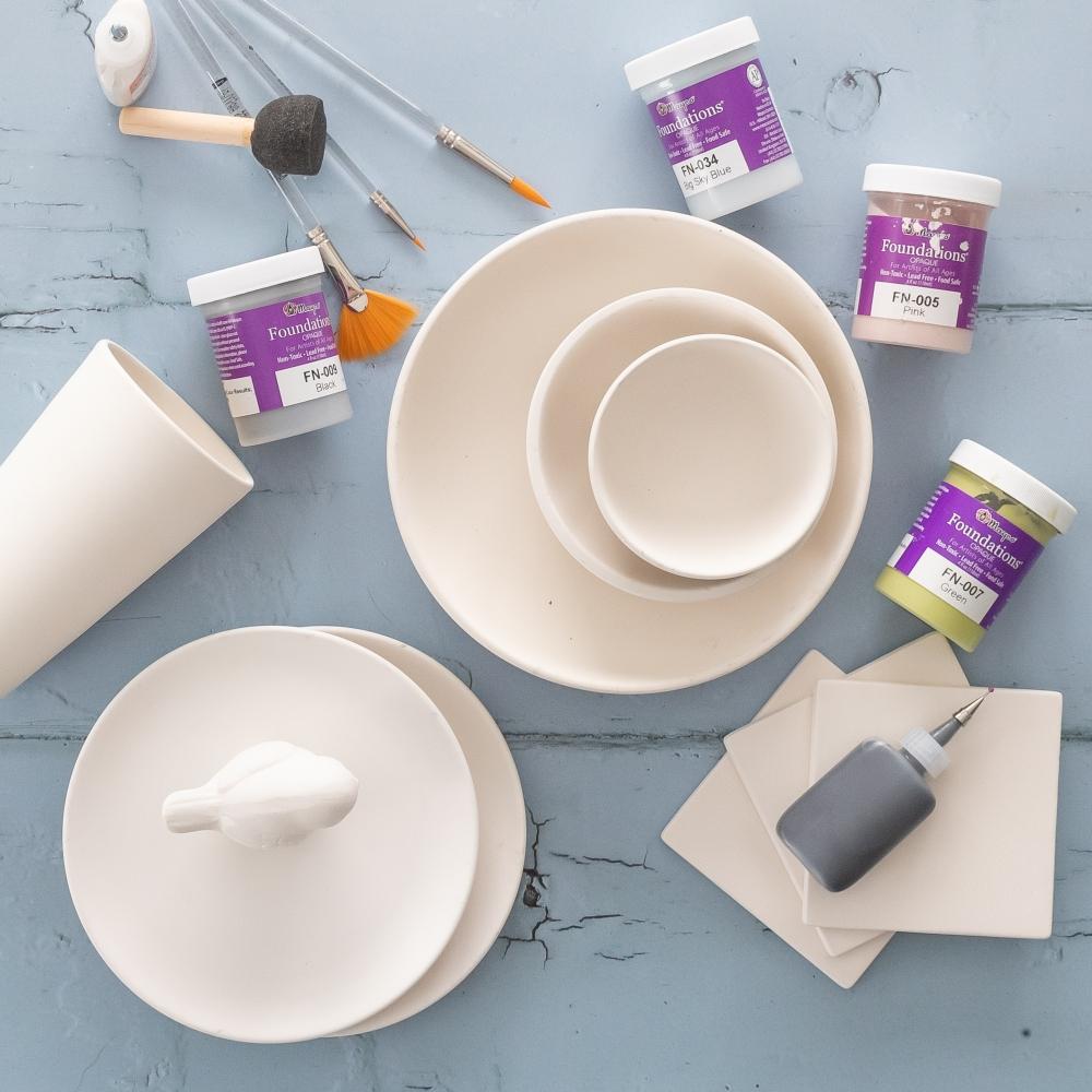 Geschirr bemalen Keramik to go