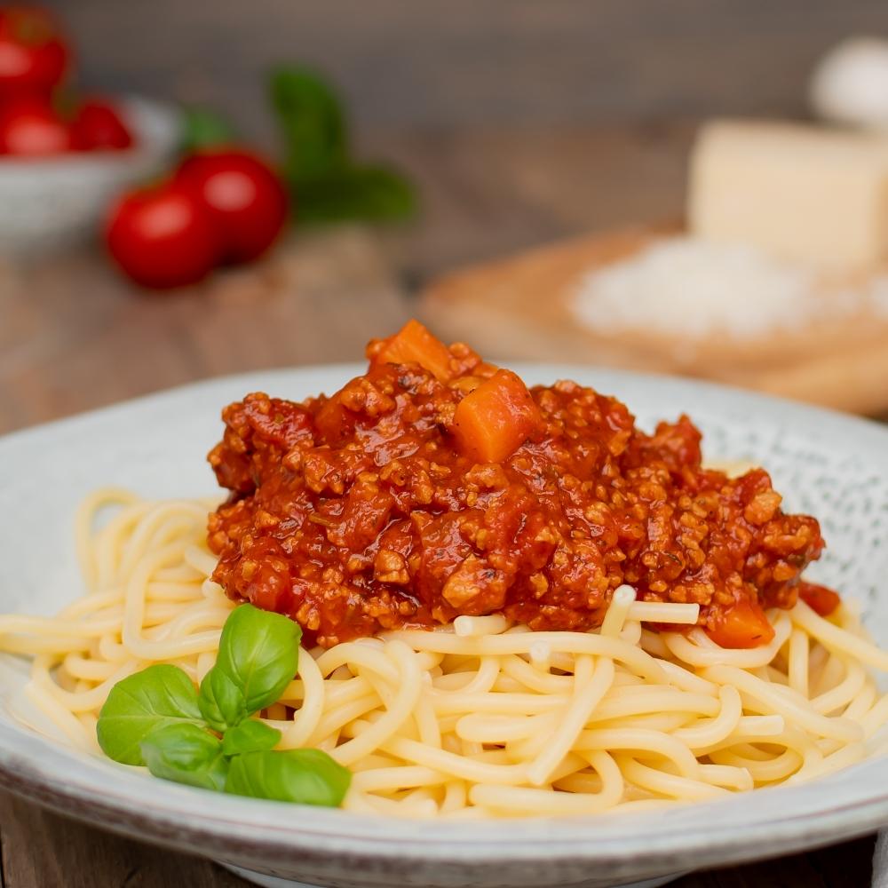 vegetarische Bolognese Soße vegan