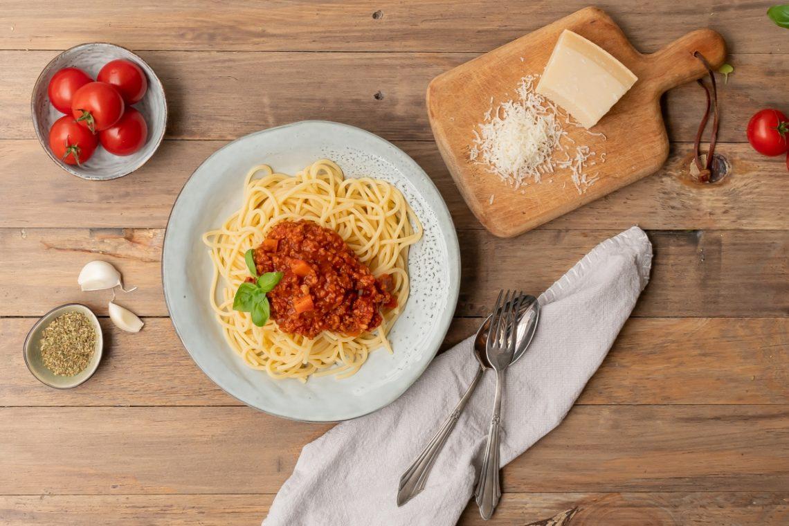 vegetarische vegane Bolognese Soße