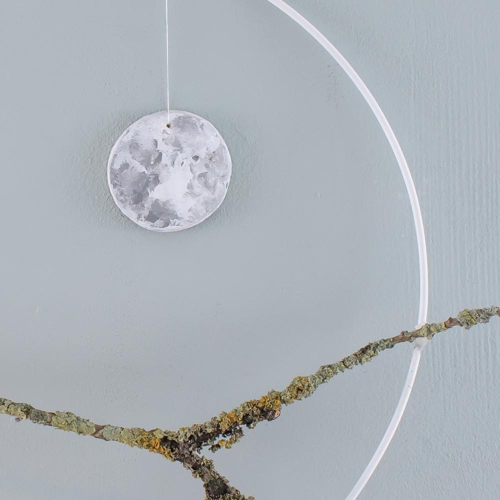 Mond aus Modelliermasse