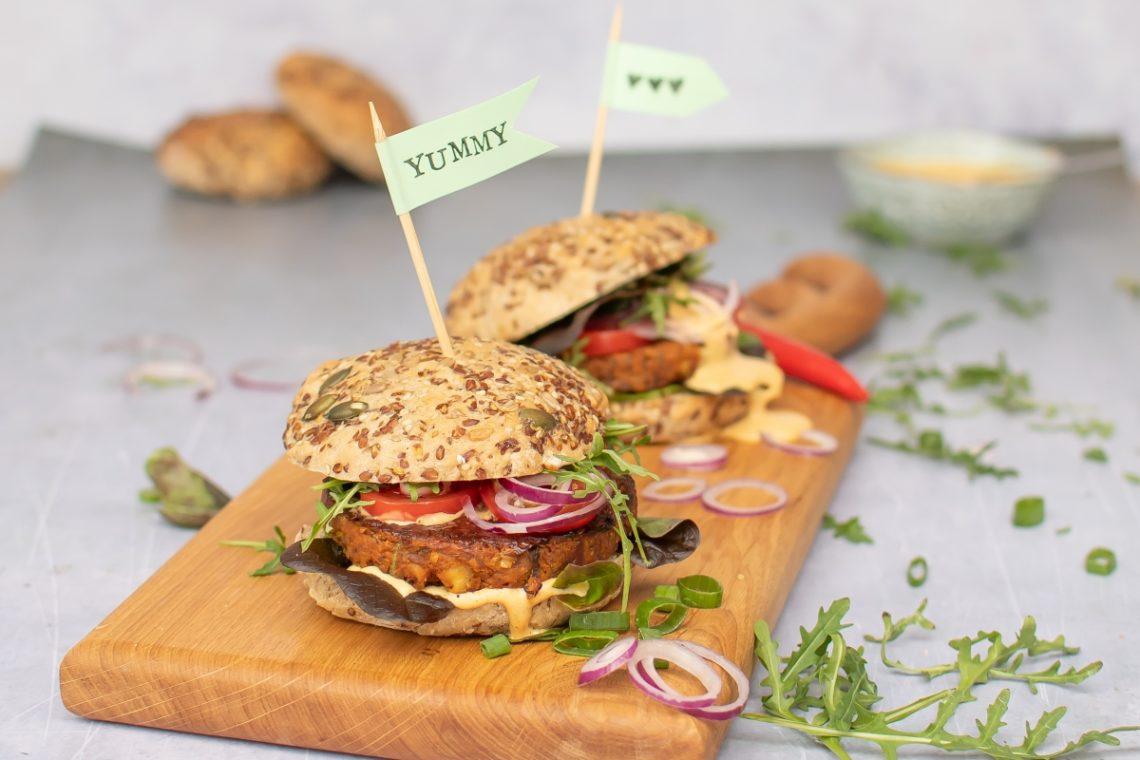 veganer Bohnen Burger Rezept