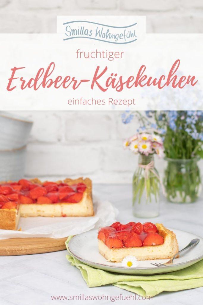 Erdbeer Käsekuchen Rezept