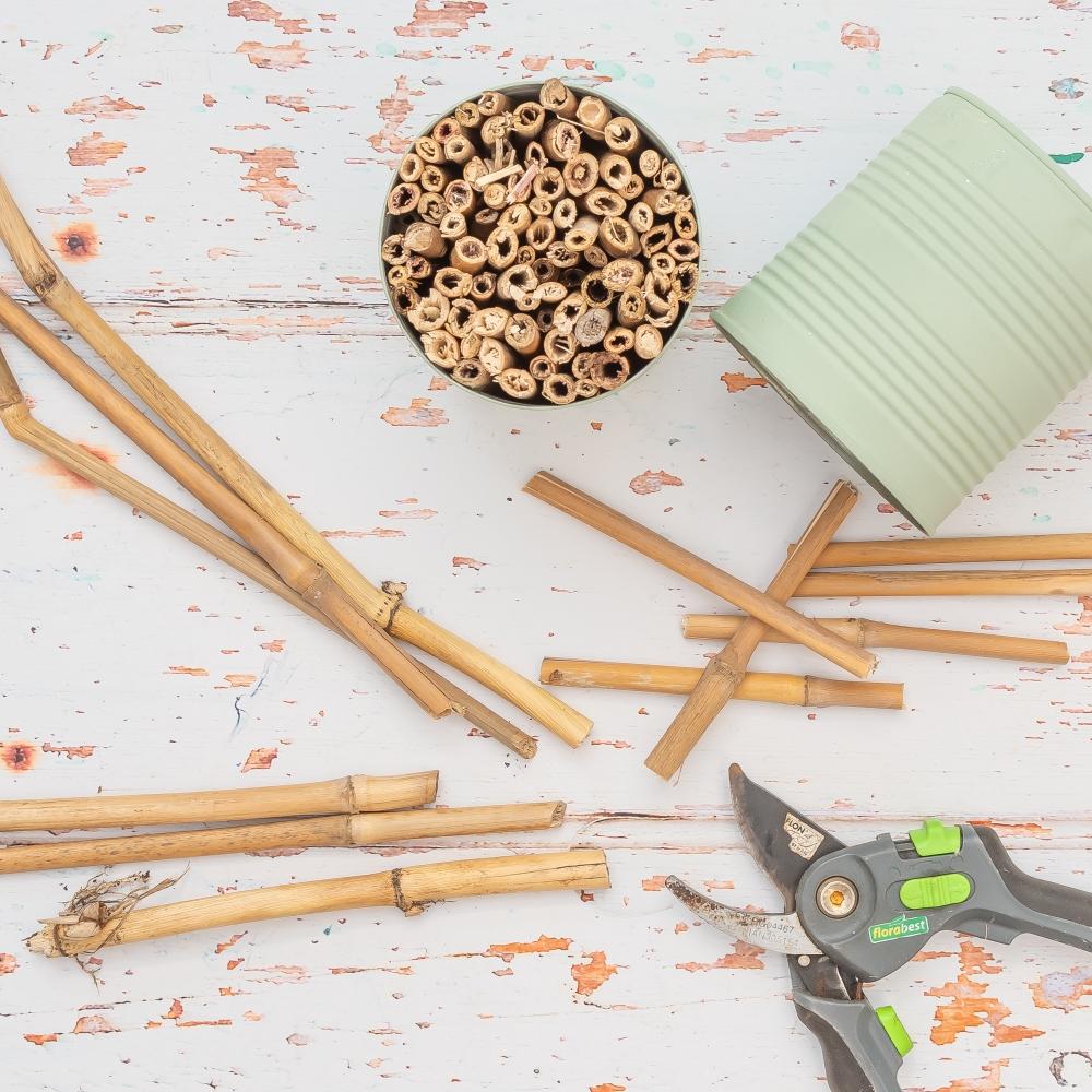 Insektenhotel selber bauen DIY