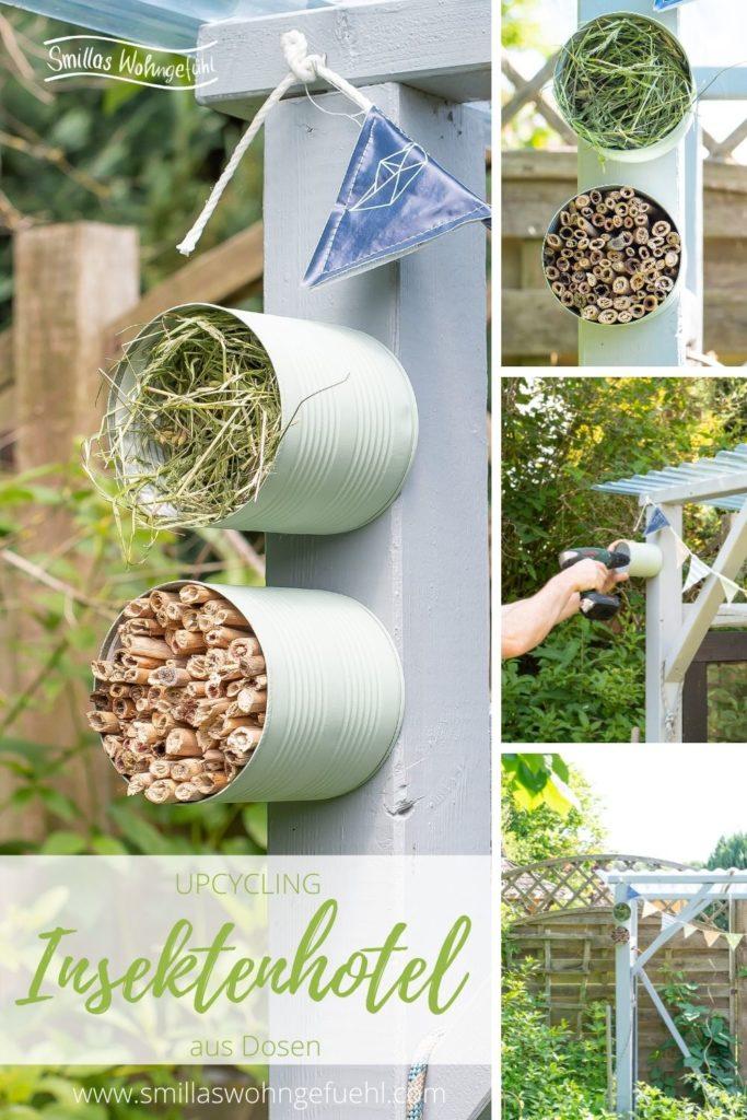 DIY Insektenhotel dosen upcycling