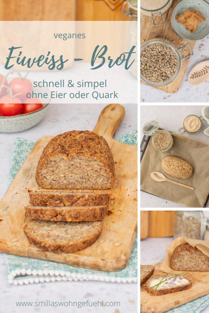 veganes Low Carb Brot Rezept