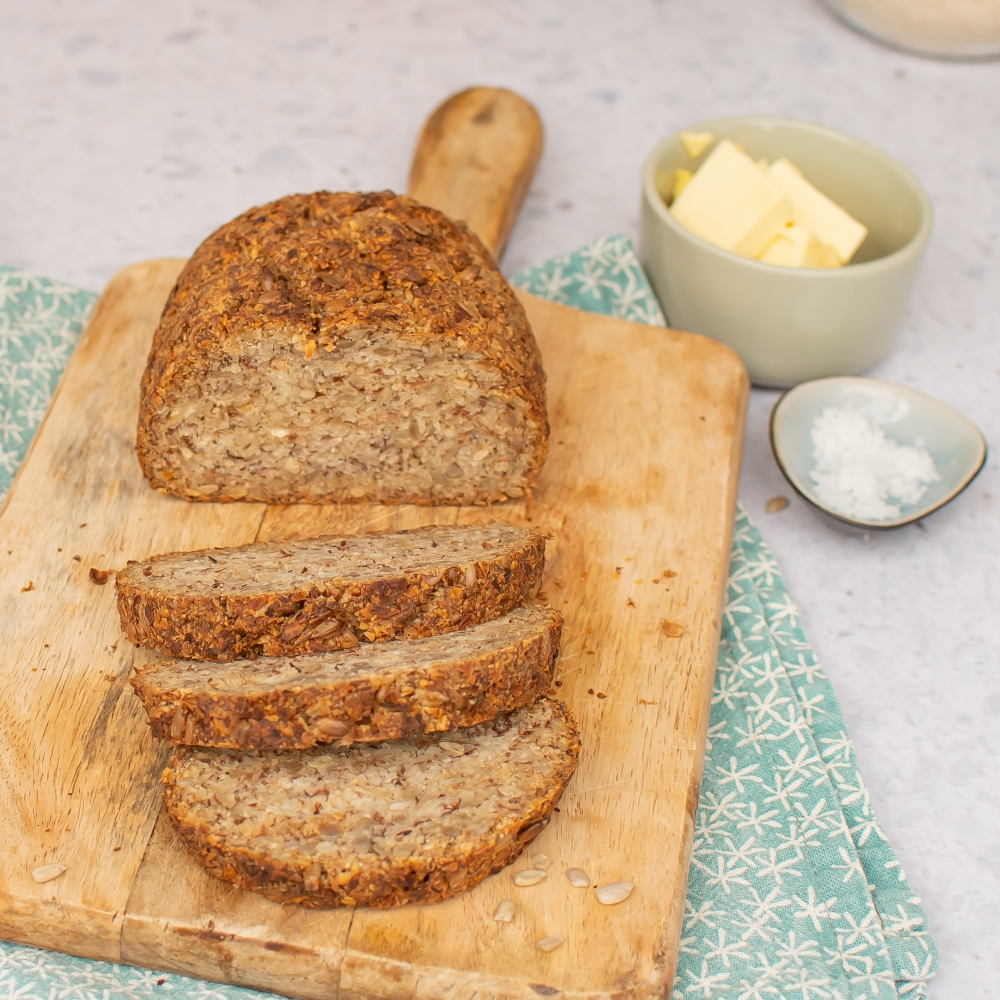 Low Carb Brot vegan Rezept