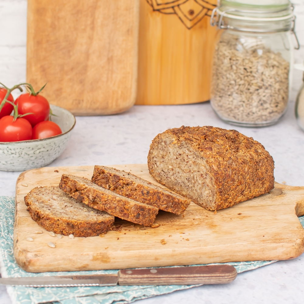 veganes Low Carb Brot