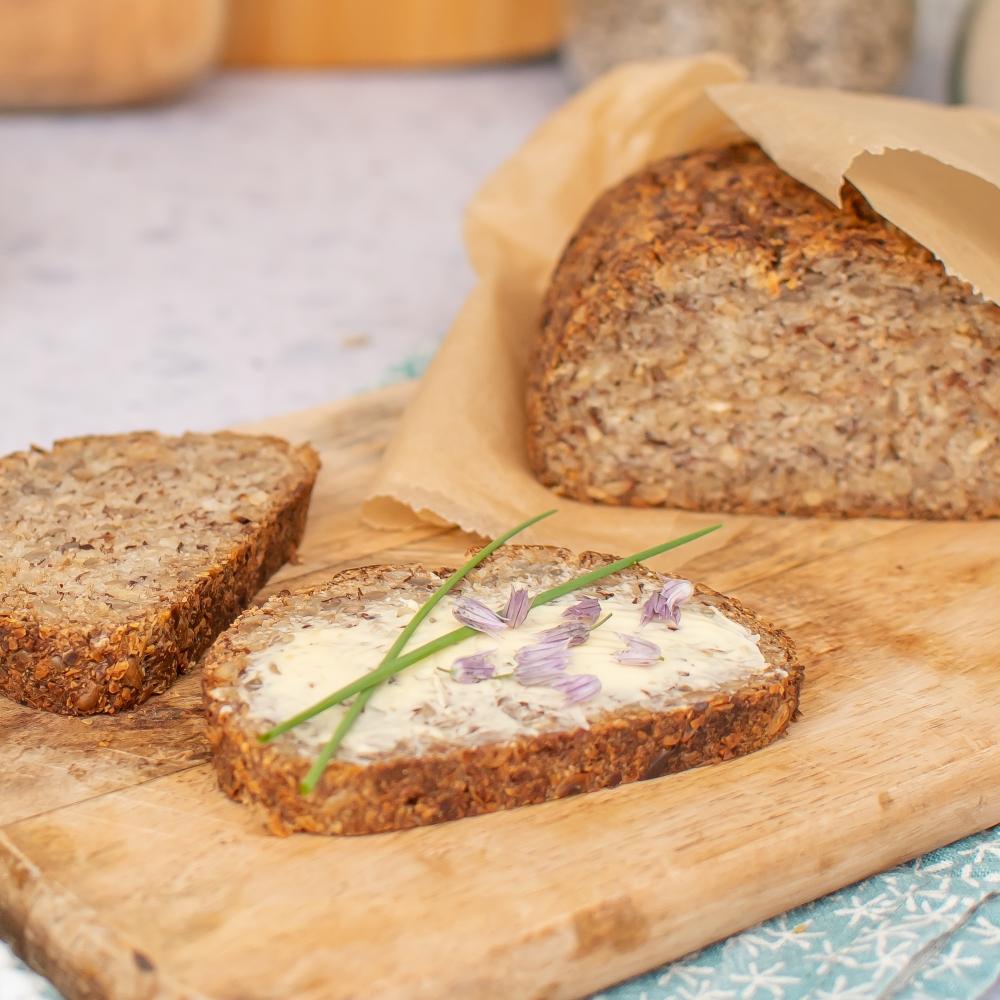 veganes Eiweiss Brot