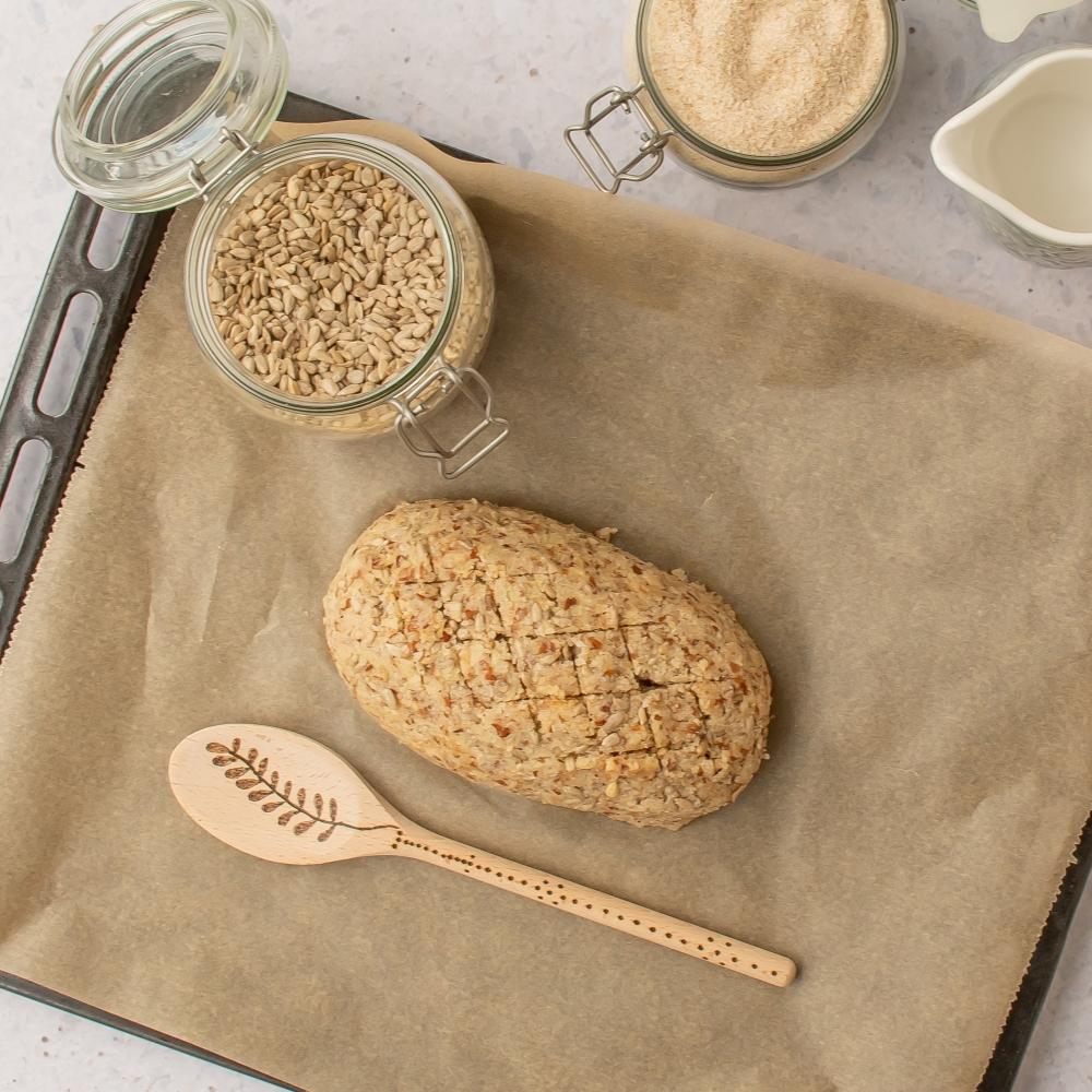 Low Carb Brot vegan