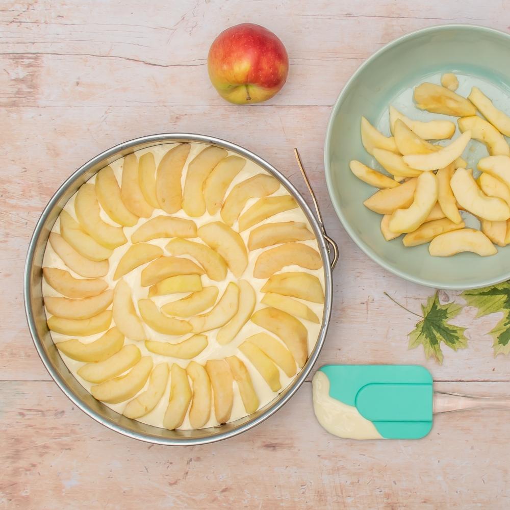 Apfelkuchen Zubereitung